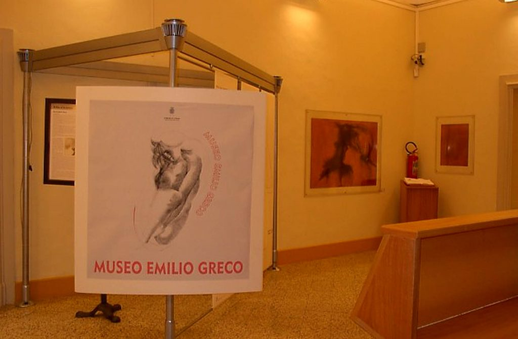 CT_Biblioteca Museo Emilio Greco Sala d'ingresso.JPG