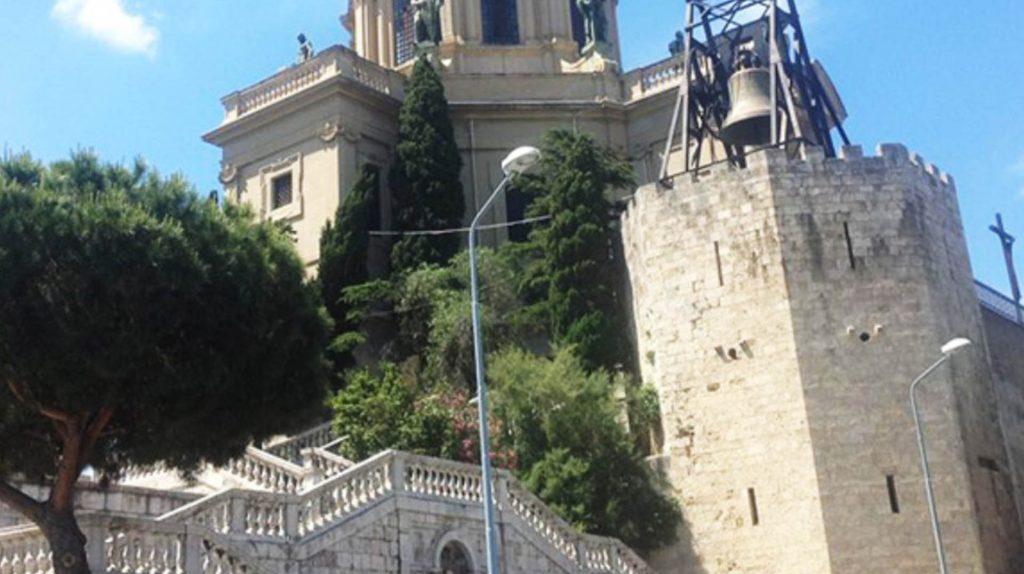 Vecchie carceri del Castello di Rocca Guelfonia 3.jpg